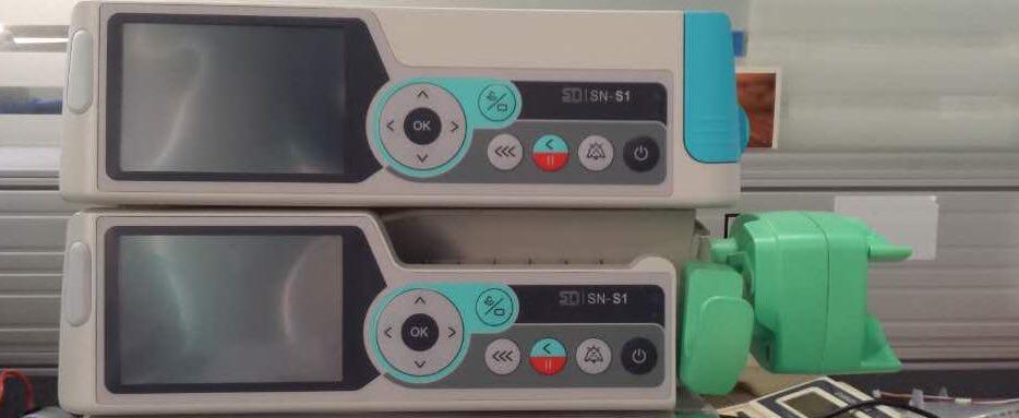 Инфузомат Sino SN-S1 и шприцевой насос Sino SN-A.